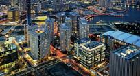 城市夜景商业中心
