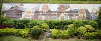 广西民族文化浮雕墙