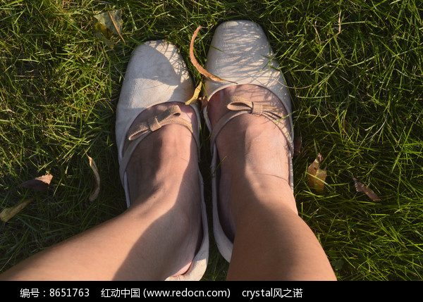 女孩的腿 鞋子图片