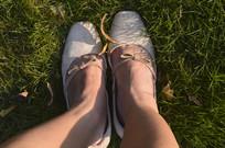 女孩的腿 鞋子