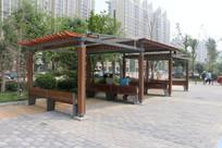 防腐木景观亭