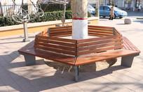 公园围树椅