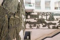 惠州博物馆的浮雕