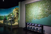 惠州博物馆的局部地图