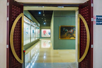惠州博物馆的展厅大门