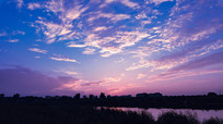 浪漫紫火烧云