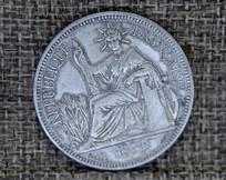 法属印度支那贸易银圆坐洋币