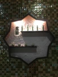 美容产品展示橱窗