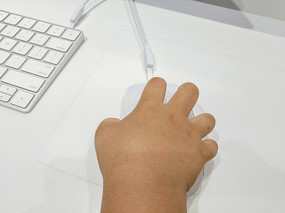 小手握鼠标