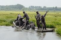 雁窝岛湿地公园雕刻