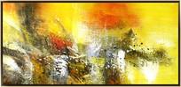 抽象油画无框画
