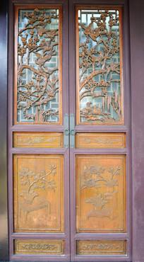 古代的木质门窗高清图片