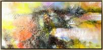 客厅抽象油画
