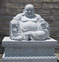 弥勒佛神像雕塑