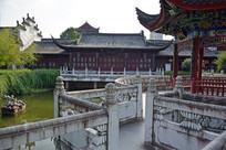 曲桥古建筑园林景观