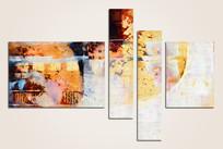 四联装饰画