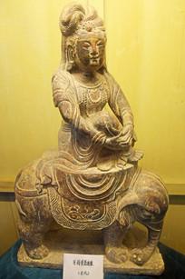 宋代石刻人物雕塑