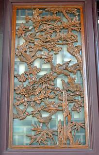 现代工艺镂空木雕