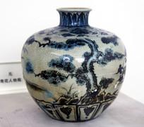 元代青花瓷瓶