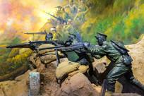 佛子坳战役雕塑
