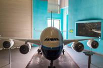 惠州科技馆内的飞机模型