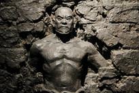 抗日英雄大刀队勇士雕像