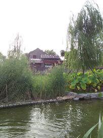 老北京三里河住宅区一景