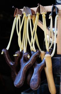 木把橡皮筋弹弓