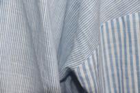 条纹服装面料细节图