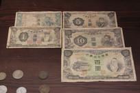 伪满洲国纸币硬币