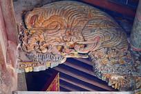 大象纹理古建筑雕饰