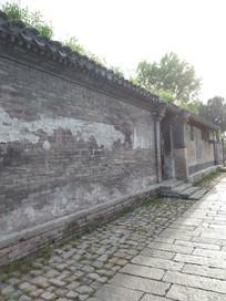 具有年代感的老北京平房