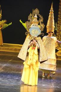 老挝的佛塔舞