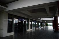 黎平机场候机楼走廊