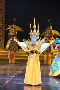 泰国的佛塔舞