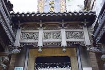 朱炳仁铜屋上的镂空铜雕饰