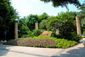 广州东山湖公园石雕