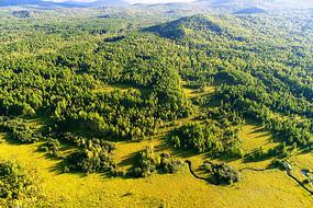 绿色山林 (航拍)