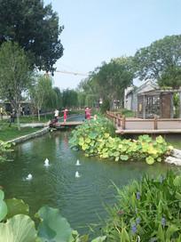 老北京三里河风貌
