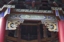 古建筑雕花