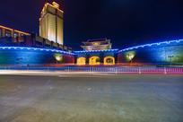 惠州朝京门灯光夜景