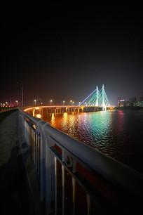 惠州合生大桥夜晚景色