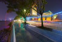美丽的惠州朝京门夜景