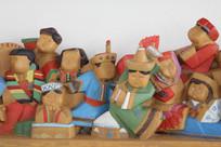 木刻民族团结