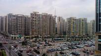 世纪城高楼群