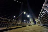 夜晚的惠州合生大桥