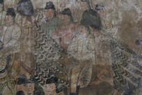 懿德太子墓地宫壁画