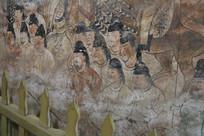 懿德太子墓地宫壁画摄影