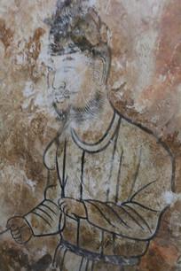 懿德太子墓地宫人物壁画