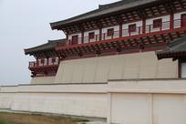 汉景帝陵大门右侧